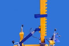 Słup naprawczy mechaniczno hydrauliczny